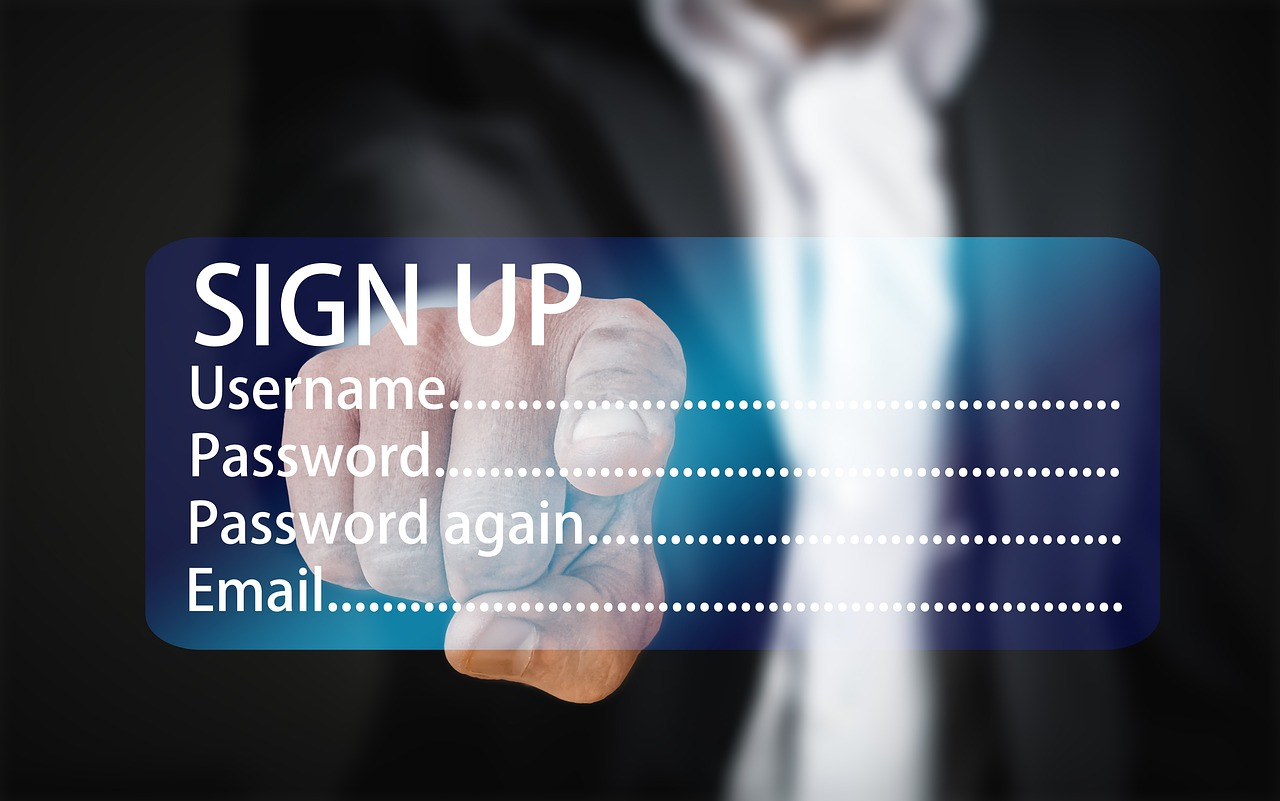新規顧客登録